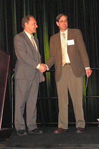 Gary Schwartz receives 2006 MATC award from Sir Timothy Berners-Lee