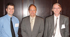 Arlen Johnson, Sir Timothy Berners-Lee, Mike Douglass